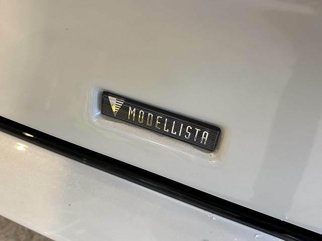 人気オプションの一つ【モデリスタエアロ】搭載。