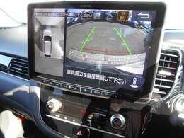 アラウンドモニター搭載ですので、駐車の際、周囲の安全確認もできます。これがあれば運転に自信が無い方もこれで安心です!一度使うと手放せない装備です!