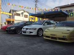 カーショップアニマルの展示場は羽生市内に3店舗、良質な中古車を常時約100台を展示しております。是非一度ご来店ください!