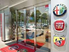 フィアット、アルファロメオ、アバルトの3ブランドを専門に取り扱っております。