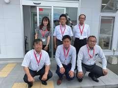 花ヶ島カーセンタースタッフ一同、お客様のご来店をお待ちしております。