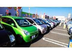 オールメーカーを取り揃えております!車両状態は第三者機関AISの認定書付きなので、安心してお車をお選びいただけます。