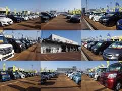 軽・コンパクト・スポーツ・セダン・ミニバン・SUV・商用車などなど、溢れんばかりの展示車が皆様のご来店お待ちしております★