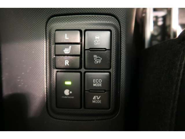 寒い日はすぐに温かくなるシートヒーターは重宝します。暖房を控えめにできることで燃費も向上します。車内の空気が汚れたり乾燥したりする心配もありません。