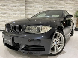 BMW 1シリーズクーペ 135i 6速MT 黒革 純正HDDナビ HIDヘッドライト