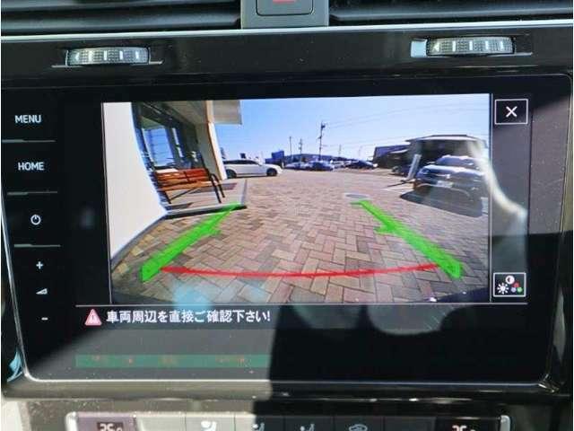 バックカメラ付き車両ですので、慣れないところでの駐車も安心ですね。