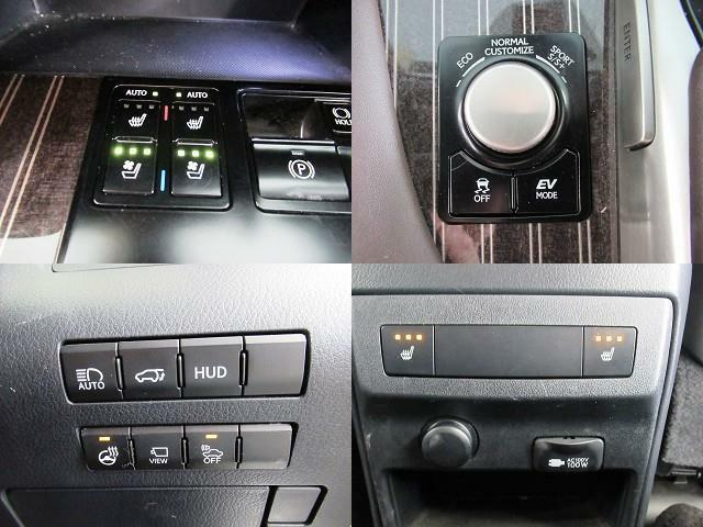 4WD・本革シート・パノラミックモニター・シートエアコン・BTオーディオ・プリクラッシュS・LKA・BSM・全車速レーダークルーズ・HUD・Cセンサー・純正20AW・電動ハッチバック・LEDライト