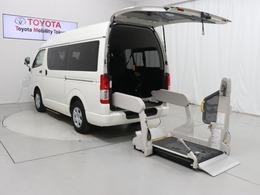 トヨタ ハイエースバン 2.0 ウェルキャブ Cタイプ ロング 福祉車両 車検整備付 ドラレコ Bカメ 10人
