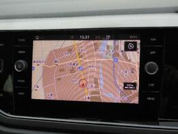 Volkswagen純正インフォテイメントシステムDiscover Pro搭載。8インチタッチスクリーンで高い視認性とスムーズな操作性を実現。車両を総合的に管理する総合システム。App-Connectにも対応しています。