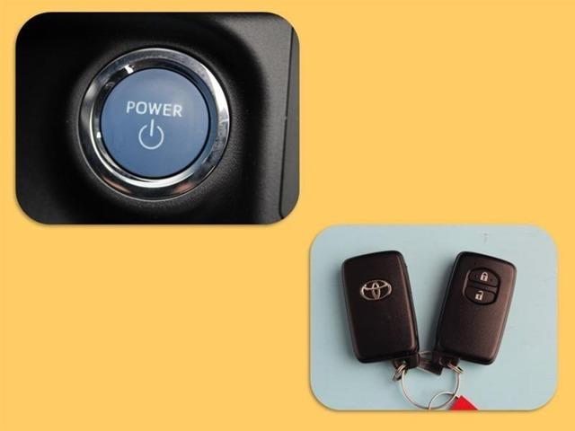 スマートキーはかばんやポケットに入れておけば、ドアのロックアンロックやエンジンの始動が出来ます!