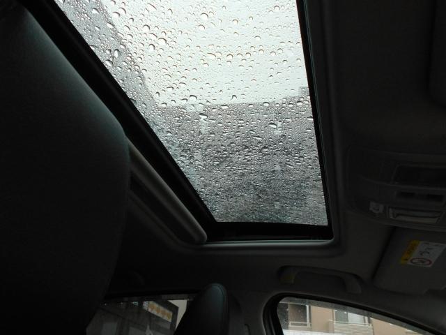 室内を満たす明るい光と開放感で、ドライブをより快適に演出。チルトアップ機構も装備しています。