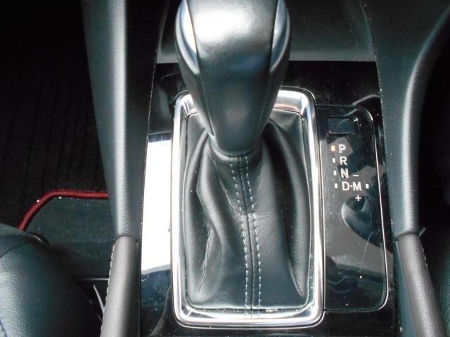 アクセルペダルを踏み込む量や速さに応じて変速パターンを制御し、人馬一体の運転感覚を発揮してくれる6速オートマ!