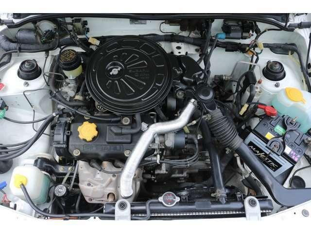 エンジンルームリペアと徹底してクリーニングしました。ファンベルト、パワステベルト交換済。