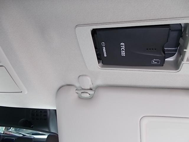 サンバイザー裏にはスマートETC2.0を装備!設置場所が隠れておりますので、防犯上も安心ですね。