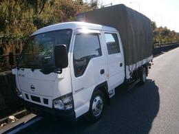 日産 アトラス 4.8 ハイキャブ ロング スーパーロー ディーゼル 幌車 ETC パワーゲート