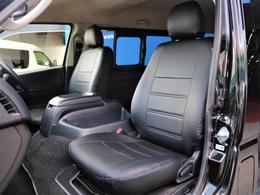 FLEX 新品シートカバー【ブラックステッチ】質感の良いレザー調のシートカバーです☆