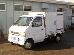 スズキ キャリイ 冷凍車 1WAYエアコン サイドスライドドア