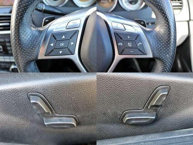 ステアリングスイッチ、パドルシフト革巻きスポーツステアリング!運転席・助手席にパワーシートを装備!