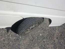 タイヤの溝もう少しあります。