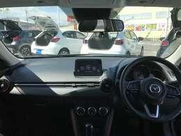 見晴らしが良く開放的な車内。視界も良好でストレス無く快適なドライブをご提供できます♪