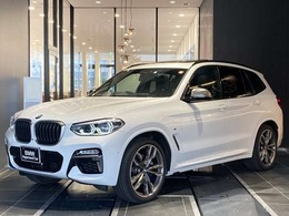 BMW X3 M40d ディーゼルターボ 4WD サンルーフ 弊社下取り1オーナー 禁煙