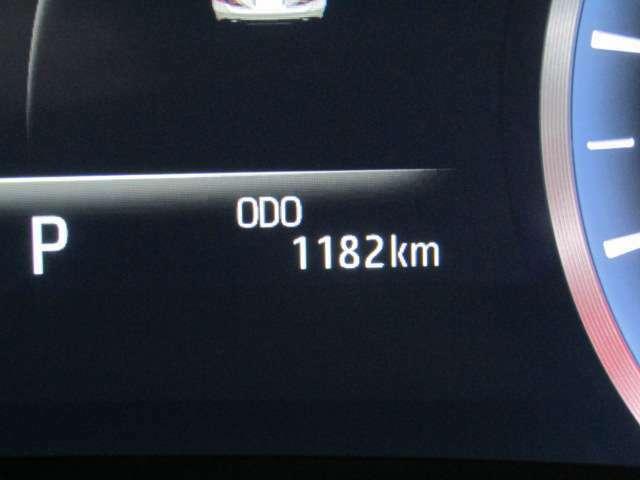 走行距離はおよそ1,000kmです。