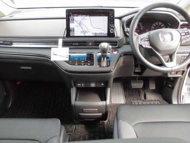オデッセイ専用10インチプレミアムインターナビ装着済 ETC2.0車載器装備