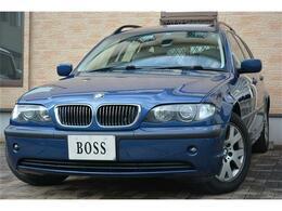 BMW 3シリーズツーリング 325i 直列6気筒 ユーザー買取 サンルーフ 革