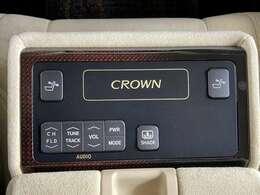 【後部座席コンソールスイッチ】後席の装備充実の一台です!!リクライニングもできるので後ろの席もゆっくりとくつろげます!
