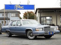 キャデラック フリートウッド ブロアム エレガンス ディーラー車 8ナンバー放送宣伝車