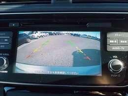 【バックモニター】車庫入れが苦手なお客様も安心して駐車できます!