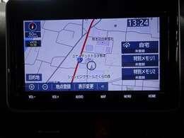 ナビ付なので、遠出の際も道に迷うことはありません♪安心してドライブをエンジョイして下さい♪(NSZT-Y68T)