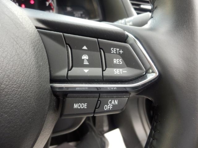 ミリ波レーダーで先行車との速度差や車両距離を認識。約30~100km/hの範囲で、先行車との車間を維持しながら追従走行を可能にするMRCCが長距離走行などでドライバーの負担を軽減します。