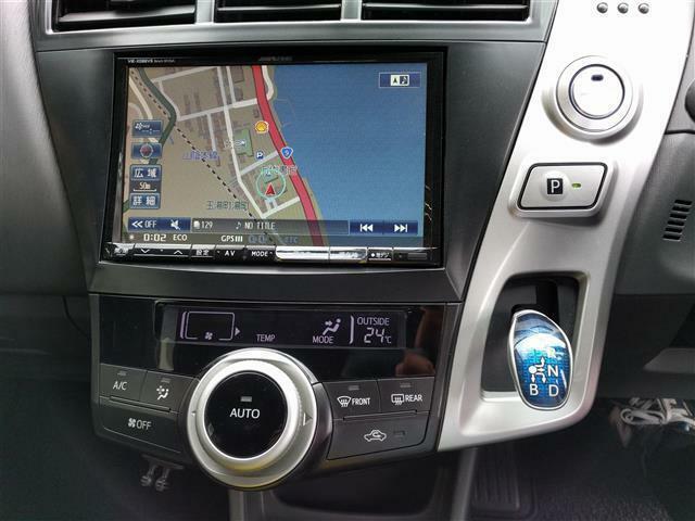 【オートAC】ボタン一つで車内を快適な温度にします!急な窓の曇りにも即座に対応できます!