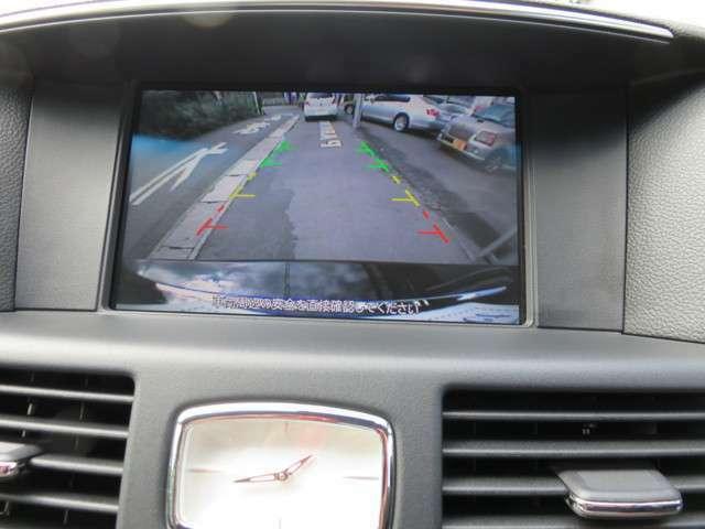 もちろんバックモニター装備!大きくて見やすい画面にステアリングと連動したガイドラインが表示されるので駐車が苦手な方でも安心です!