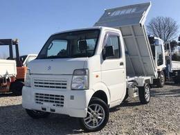 スズキ キャリイ 浅底ダンプ (LE-DA63T改) パートタイム4WD パートタイム4WD 高低二段切替式 アルミ