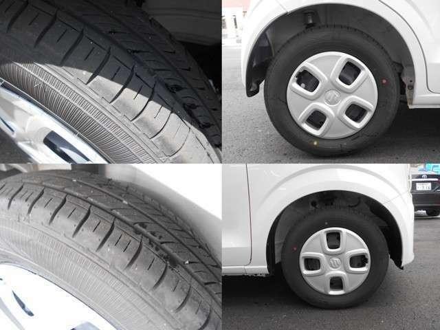 タイヤ溝は充分に残っています♪