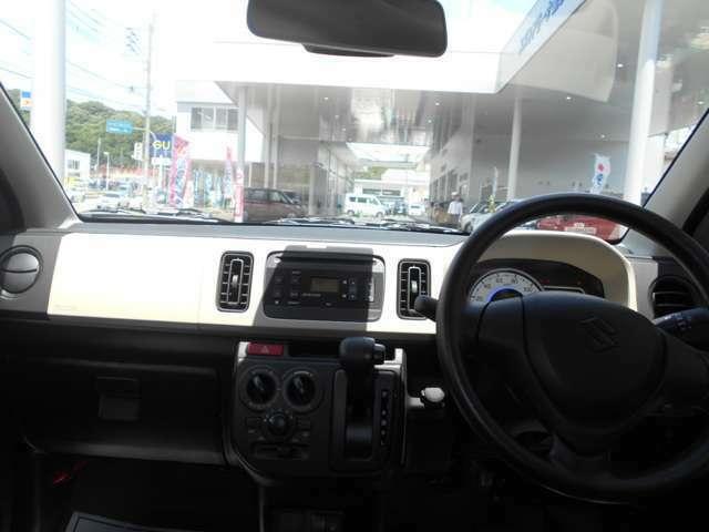インパネ全体。運転時の視界も良好です♪