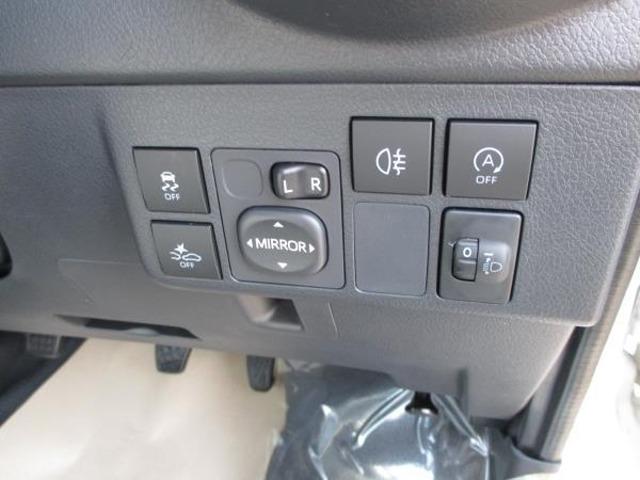 ☆運転席回りのスイッチで安全装備のON/OFFも簡単に!