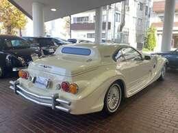 フロント同様、他の車には見られない独特のスタイル。