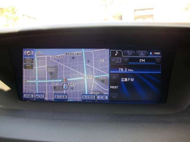 ドライブ快適ナビ装備に地デジチューナー内蔵で快適車!