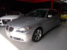 BMW 5シリーズ 525i ハイライン 07モデル キセノン 黒革 純正HDDナビ