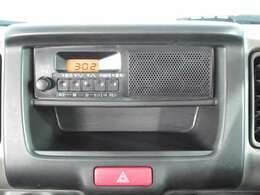 AM/FMラジオ付き