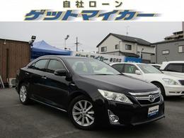トヨタ カムリハイブリッド 2.5 Gパッケージ 自社 ローン 愛知  HDDナビ HID