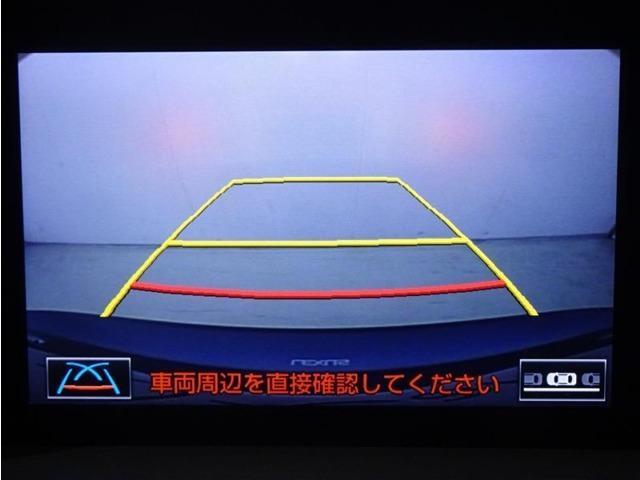 レクサス車は全車バックガイドモニター標準装備です。