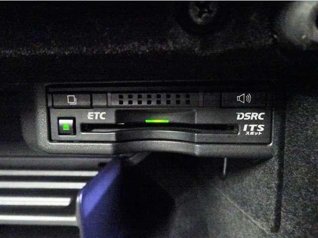 ETC標準装備です。グローブボックス内に設置しており、外から見えないので安心です。