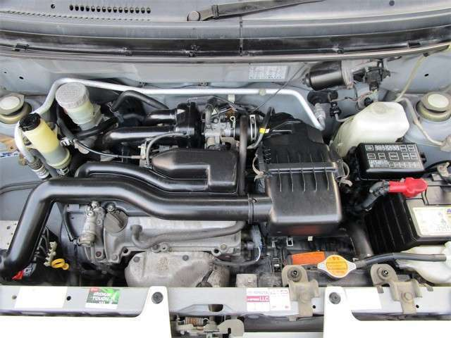 エンジンもキレイですよ(^◇^)タイミングベルト交換済みとなっております!!