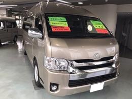 トヨタ ハイエースバン レクビィ トップセイル Superior 内装チタンブラック FFヒーター 後席テレビ
