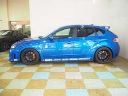 Kansaiサービス現車セッティング(フラッシュエディター) ZEAL車高調 RAYS18インチAW CHARGE SPEEDリアスポイラー WRX STi(GRB)スペックC純正ブレンボ