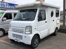 マツダ スクラムトラック バンショップミカミ テントムシ 4WD ポップアップルーフ サイドオーニング